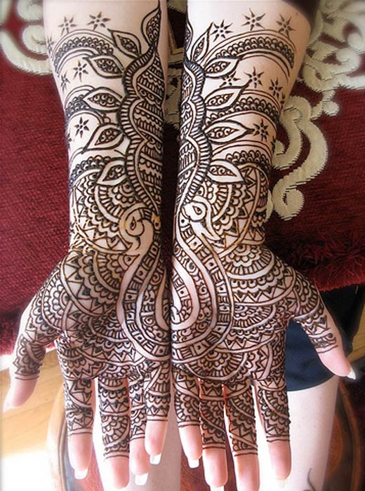 Mehndi Hairstyles Pictures : Party henna designs for hands best simple