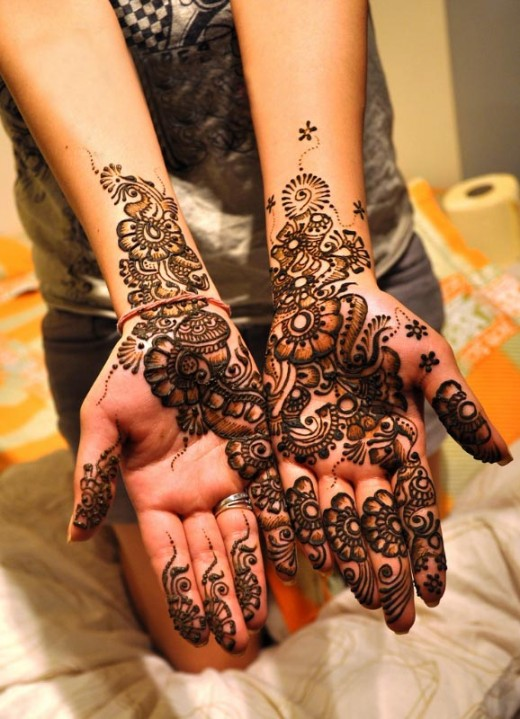 Mehndi Designs For Party : Indian party mehndi designs for hands