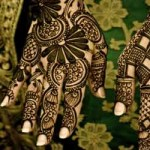 Indian Party Mehndi Design