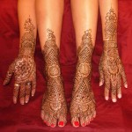 Indian Party Mehndi Designs 2010