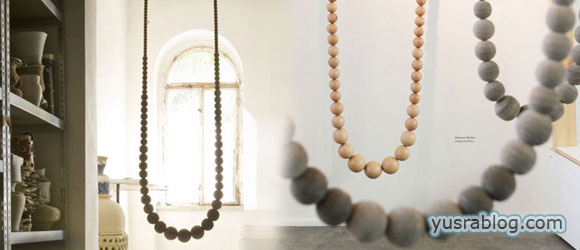 Designer Johanna Richter's Amazing Swing Necklace