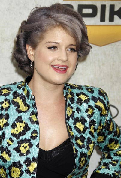 Kelly Osbourne Short Curls September Click List Entertainment Editors