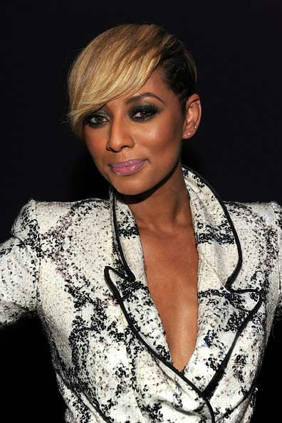 keri hilson blonde hairstyles 2010. Keri Hilson showed off her