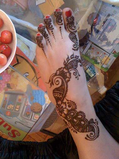 Bridal Foot Mehndi Designs Unforgettable Collection : Bridal foot mehndi designs unforgettable collection