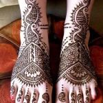 New Indian Mehndi Designs For Feet