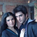 Resham with Imran
