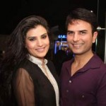 Resham with Shahzad