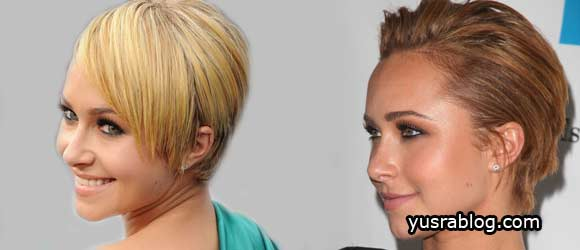 Pop Singer New Short Straight Haircut Styles