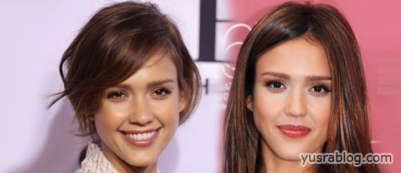 Jessica Alba Hairstyles – Celebrity Latest Hair Fashion Trend