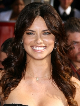 Adriana Lima Hairstyles for 2010 – Celebrity Haircut Ideas