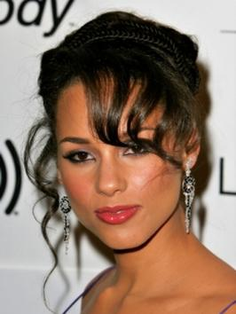 Alicia Keys Hairstyles for 2010 – Celebrity Haircut Ideas