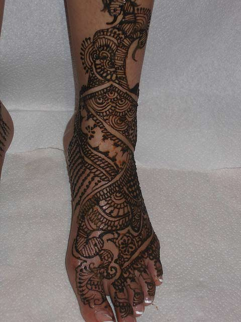 Leg Mehndi Design Arabic : Arabic mehndi designs for legs awesome collection
