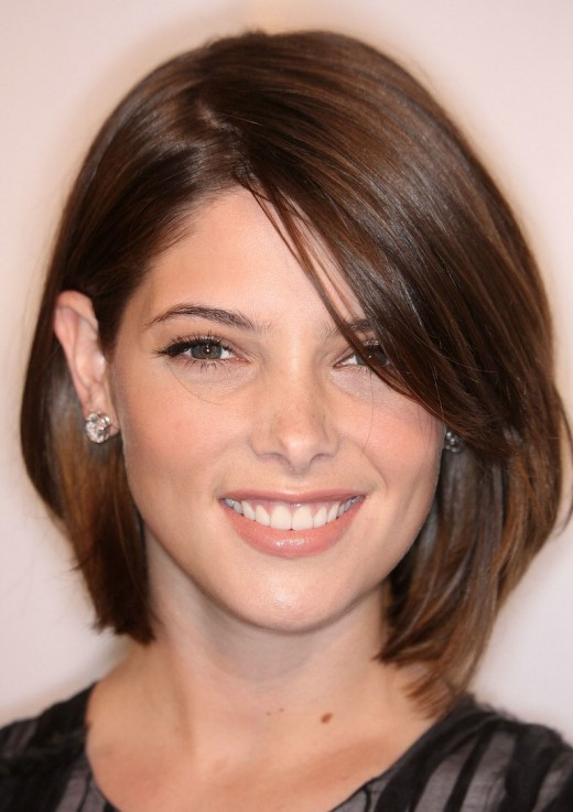 bob hairstyle ideas. Ashley Greene Bob Hairstyles