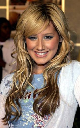 ashley tisdale hair color. Ashley Tisdale Long Straight