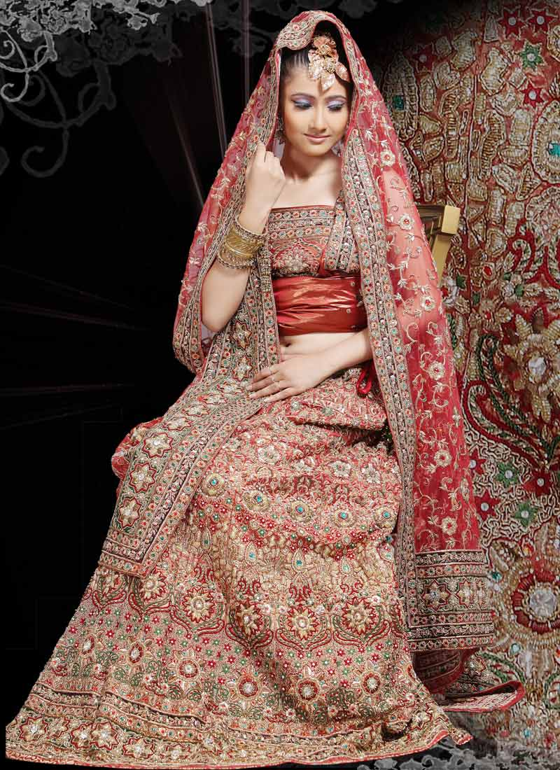 Ghagra Choli Design for Wedding: Outstanding Photo Gallery