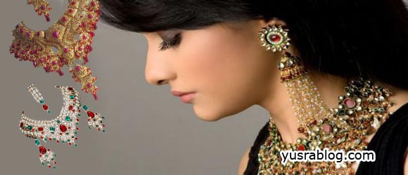 Bridal Jodha Akbar Heavy Jewellery Designs for Women