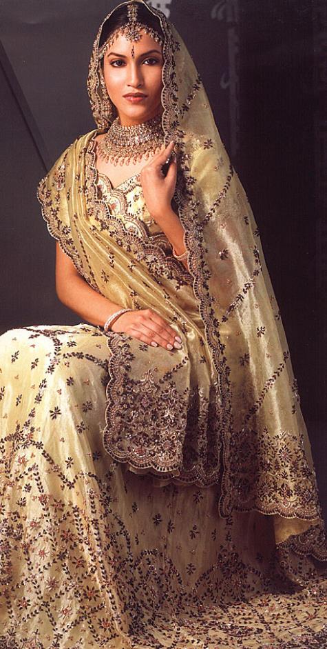 Rajasthani Bride Dress www.fashion-beautyzone.blogspot.com