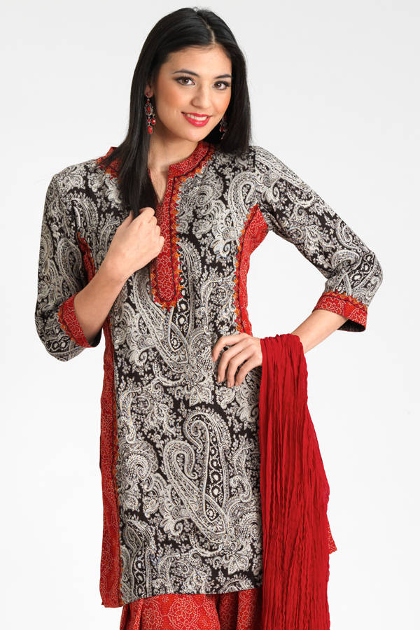 Ladies Long Kurtis Designs: Outstanding Pictures Collection