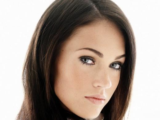 megan fox makeup. Megan Fox Eyebrow Makeup