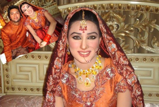 Mehwish Hayat Wedding Picture