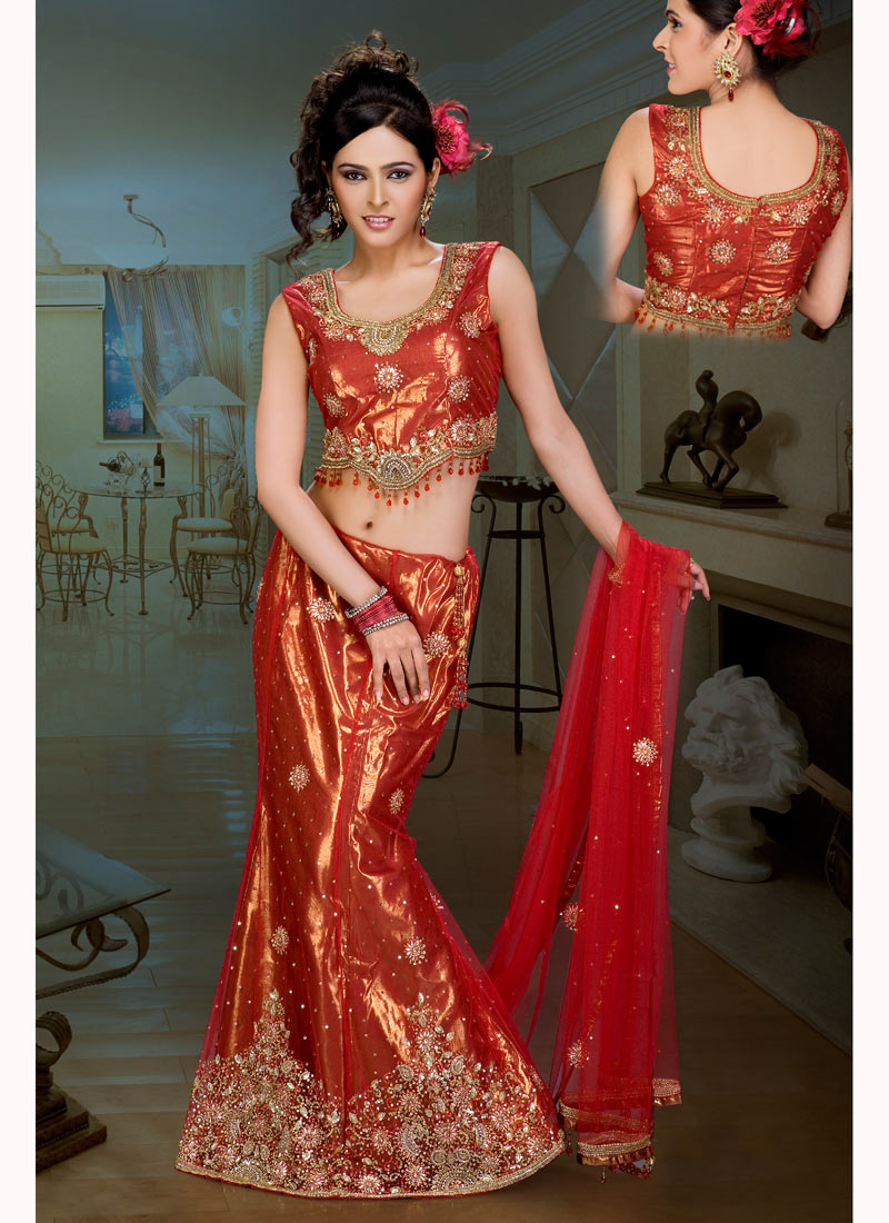 Net Lehenga Choli Fashion: Latest Styles For Girls
