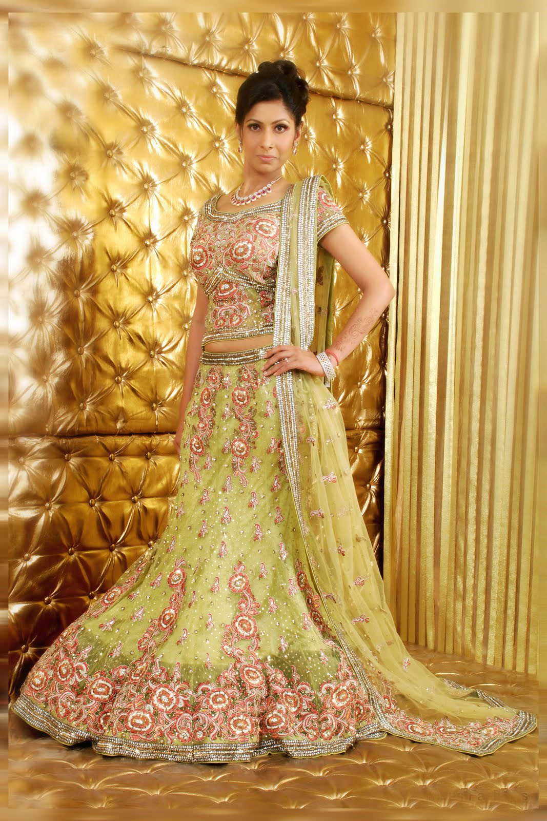 Lengha choli fashion dress 24