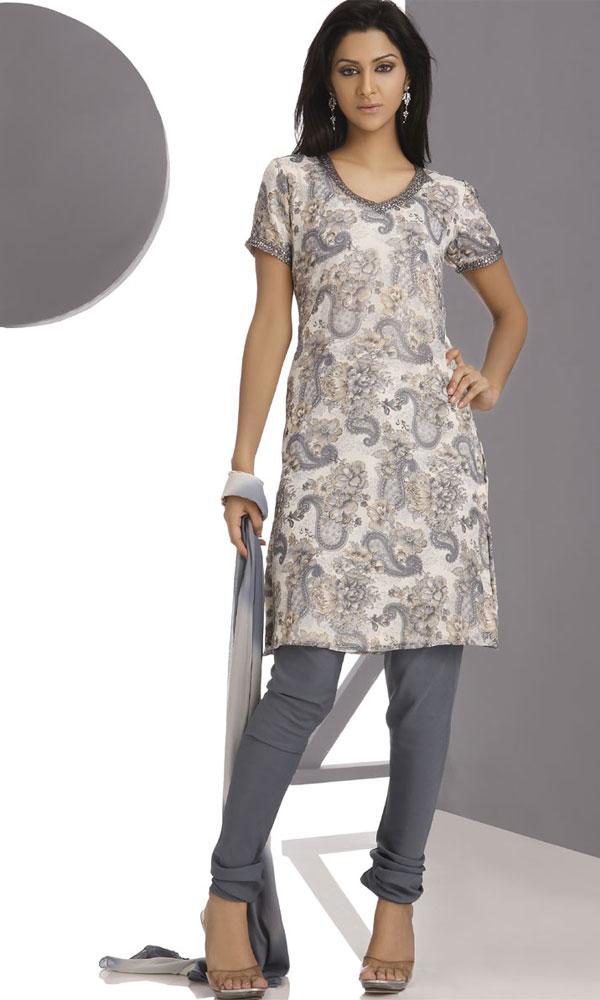Georgette Salwar Kameez Latest Design Elegant Collection Yusrablog Com