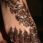 Pakistani Mehndi Design for Bridal