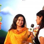 Sania in TV Program