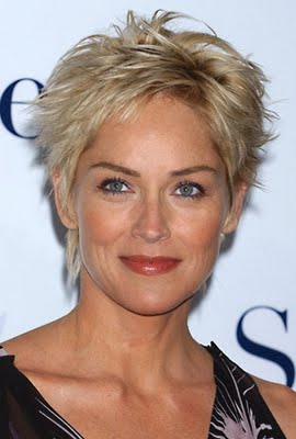 Crop Hairstyles for 2010 – Stylish Haircut Trend Sharon Stone Short ...