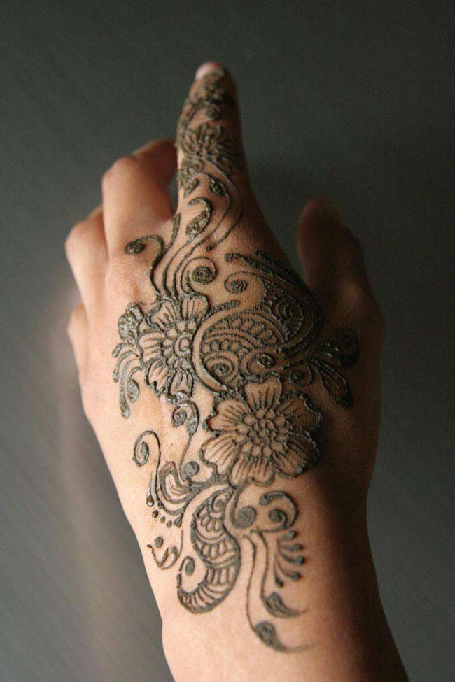 Pakistani Mehandi Designs 2012 Simple Mehandi Designs