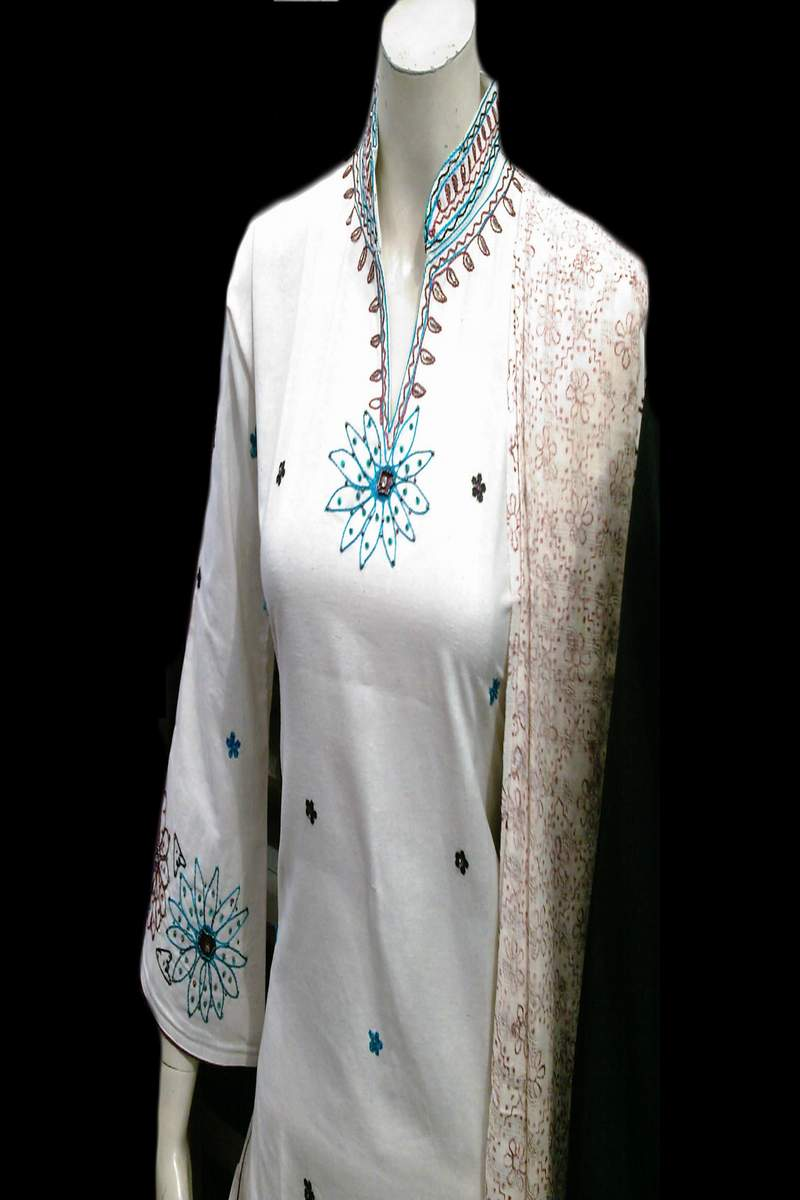White Salwar Suits Designs Latest Charming Dresses