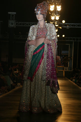 Ali Xeeshan Bridal Collection from Bridal Couture Week - Ali Xeeshan Dresses at Bridal Couture Week 2010 in Lahore