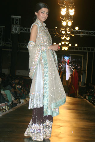 Ali Xeeshan Dresses at Bridal Couture Week 2010 in Lahore