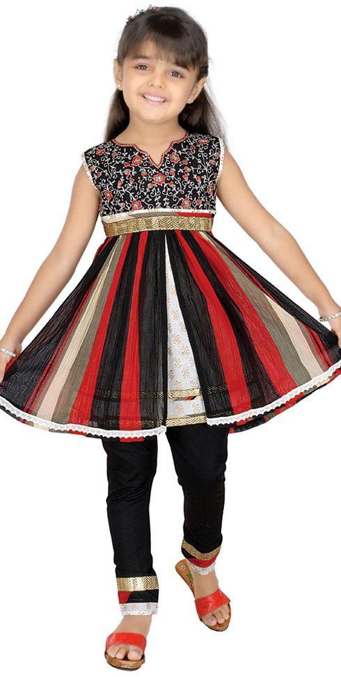 Anarkali Kid Salwar Kameez Fashion for Eid - Kids Fashion