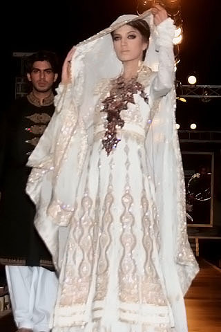 Awesome Ali Xeeshan Collection Bridal Couture Week 2010 - Ali Xeeshan Dresses at Bridal Couture Week 2010 in Lahore