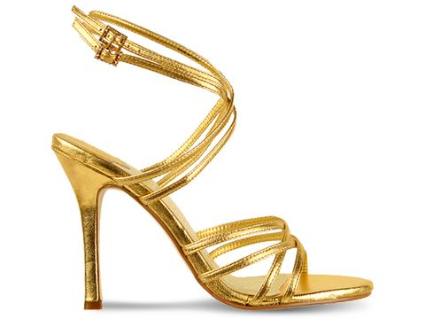 Baby Phat Shoes Foil Sandal Shoes for Eid - Latest Fancy Shoes For Eid 2010 – 11