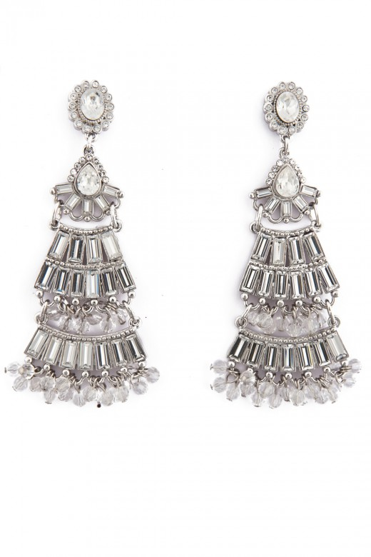 Badgley Mischka Jewelry Eiffel Tower Ear Rings 520x780 - Fantasy Earrings Jewelry Fashion For 2010 – 11