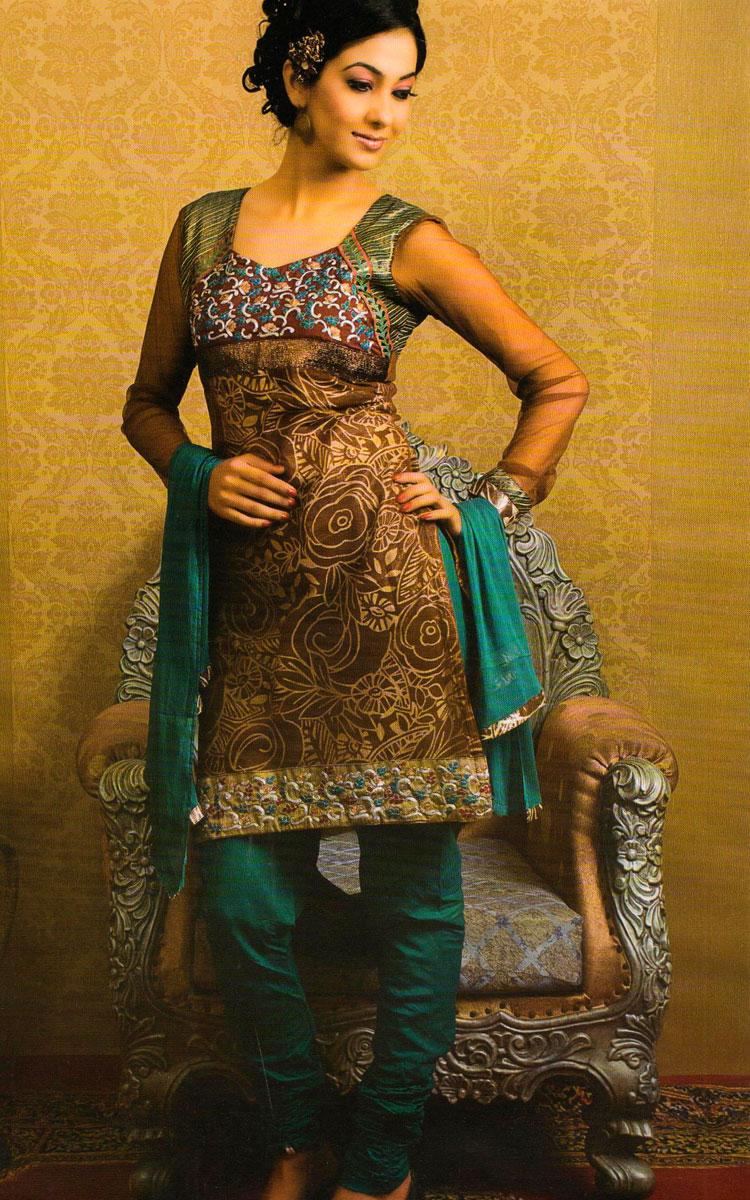 Eid Salwar Kameez 2010-11: Latest Designs Concepts For Girls