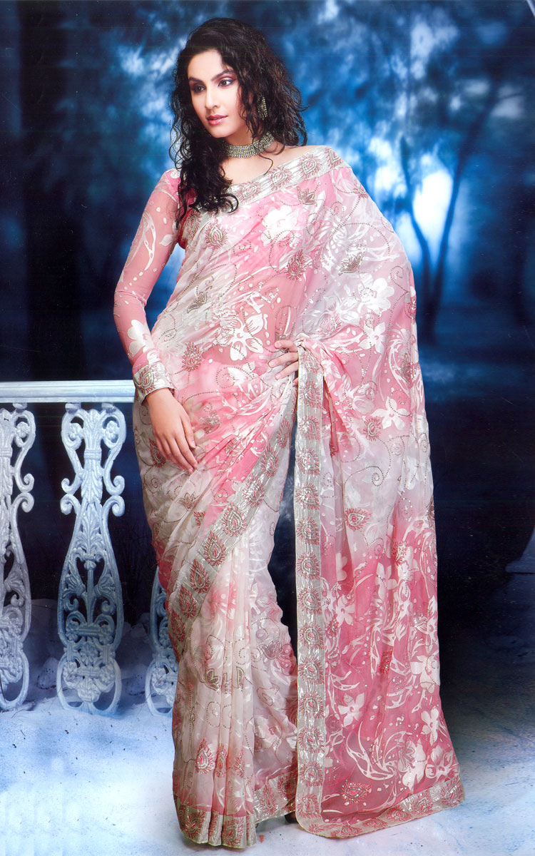 Latest Design Of Assam Type House: Designer Fancy Saree Collections