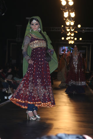 Bridal Dresses from Bridal Couture Week 2010 Photo Shoot - Nomi Ansari Collection at Bridal Couture Week 2010 in Pakistan
