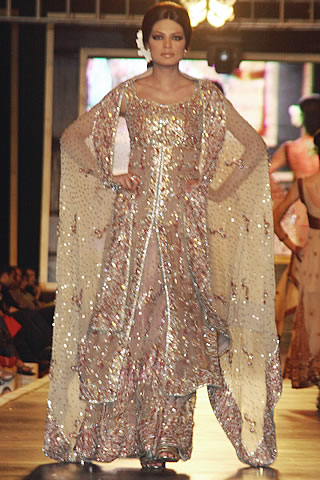 Bridal Dresses from Bridal Couture Week 2010 - Mehdi Pakistani Designer Collection at Bridal Couture Week 2010
