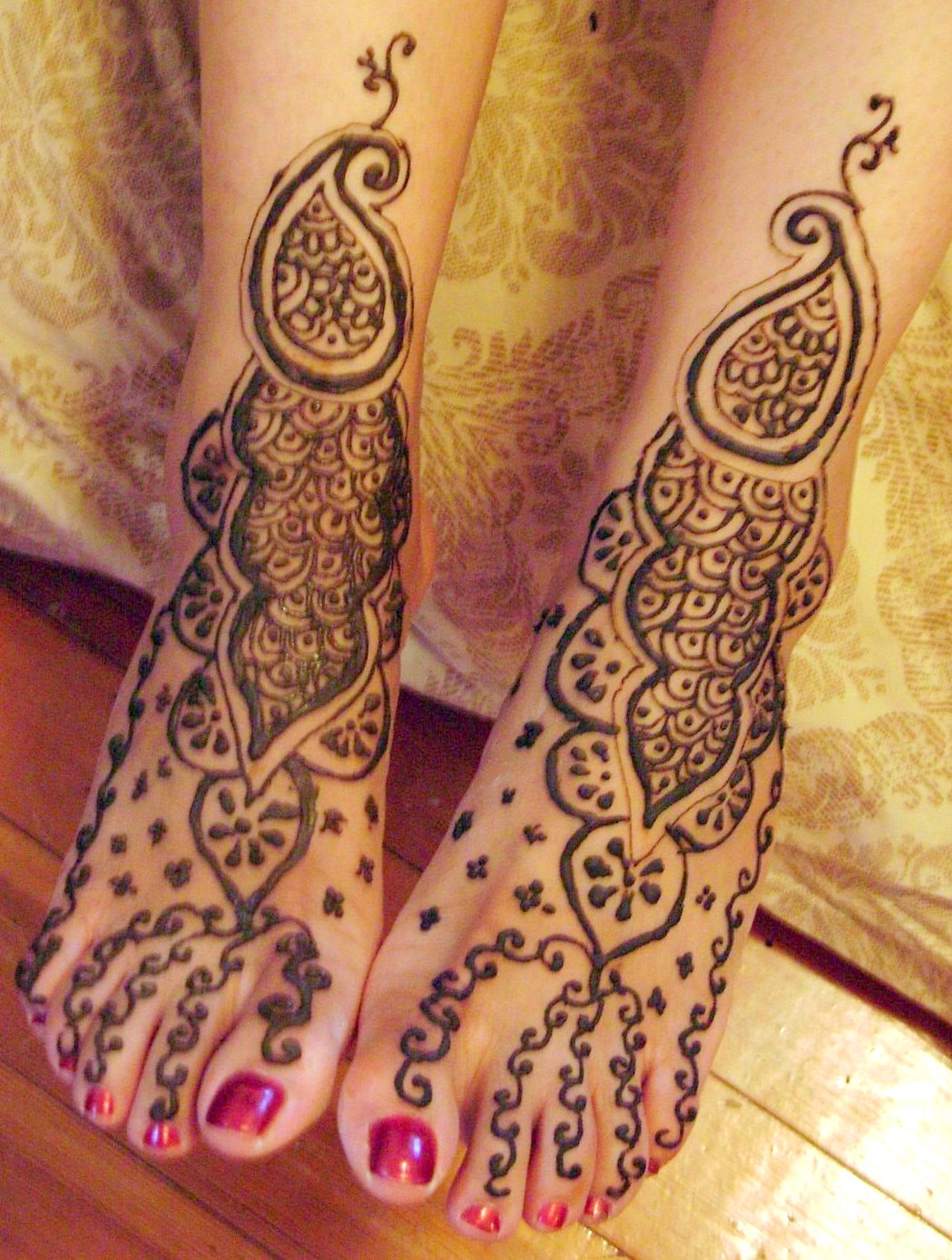 Mehndi Feet Quotes : Eid mehndi designs on feet for you love all the