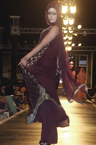 Designer Mehdi Dresses Collection at 2010 in Lahore - Mehdi Pakistani Designer Collection at Bridal Couture Week 2010