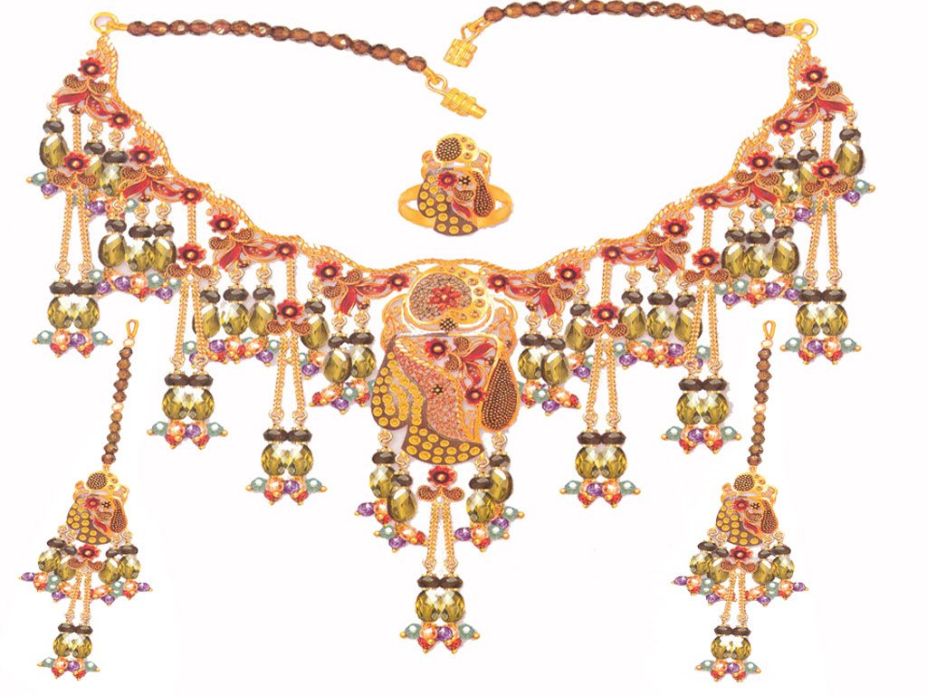 Indian Jewelry 99: Gold Jewelry