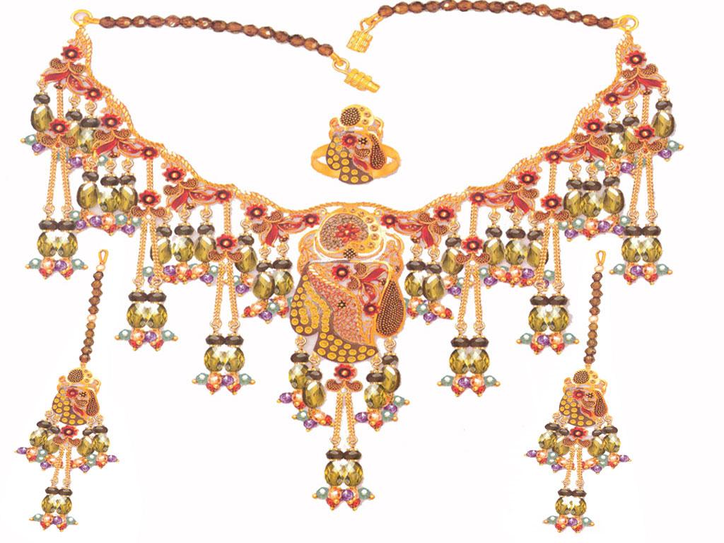 Indian Jewelry 99: Gold Jewelry