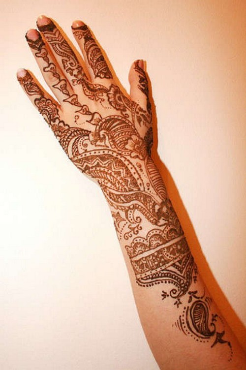 Mehndi For Arms : Eid arms mehndi designs its all about fashion for