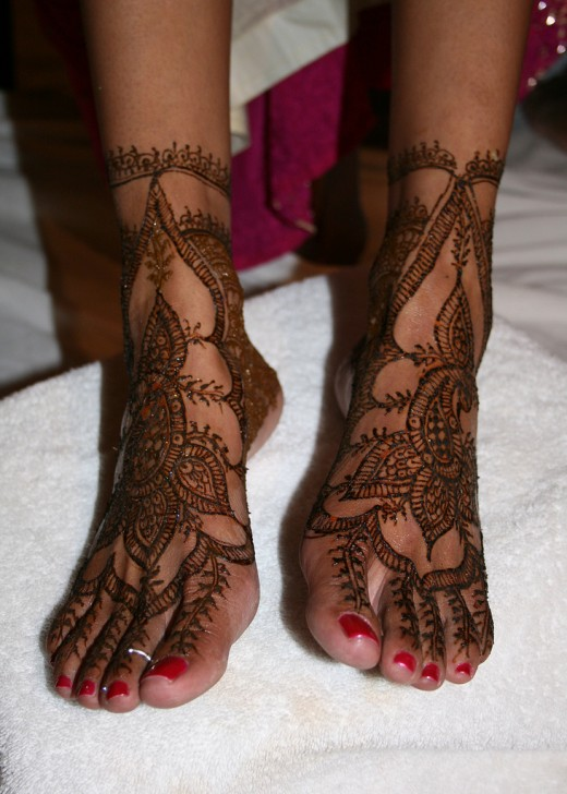 Feet Mehndi For Eid : Best eid mehndi design for feet yusra