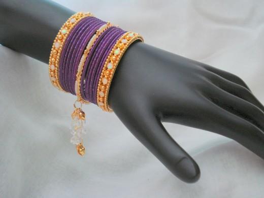 Ethnic Bangle Design 520x390 - Bangle Designs For Girls 2010-11