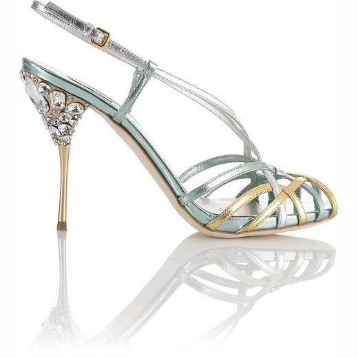 Excellent Bridal Sandal Shoes for Eid 520x520 - Latest Fancy Shoes For Eid 2010 – 11